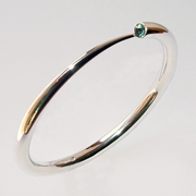 Wiggly Tapering Bangle