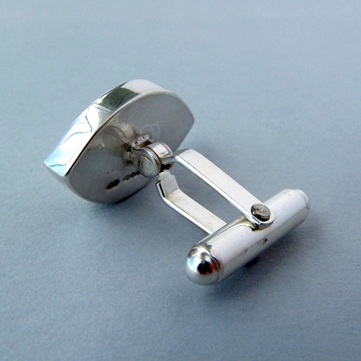 leaf shape cufflink back