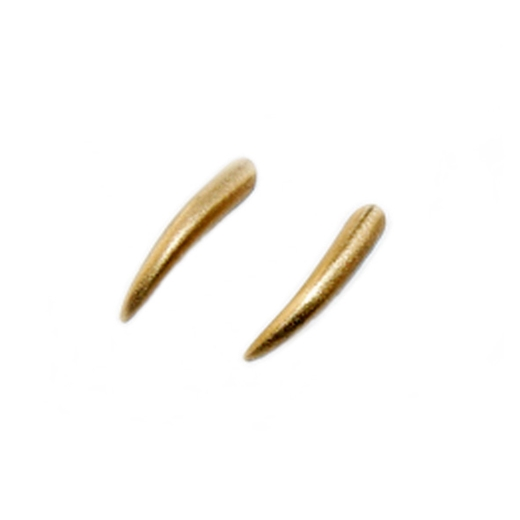 Small 18ct gold spikes