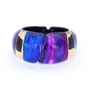 Purple Hinged Bangle