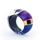 Purple Hinged Bangle 2