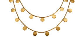 Cara Tonkin - Long Paillette Necklace
