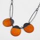 Buoy Neckpiece Burnt Orange