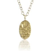 Catkin Pendant in Gold
