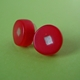 red round earrings