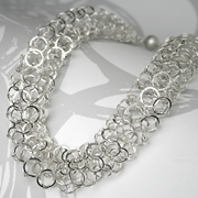 Ervine necklace silver