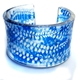 Indigo China Blue Acrylic cuff