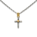 Tiny Cross Necklace