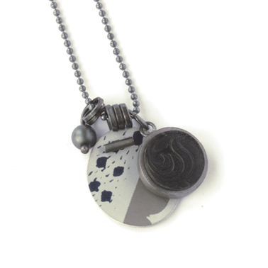 collection pendant - grey