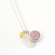 Collection pendant pink