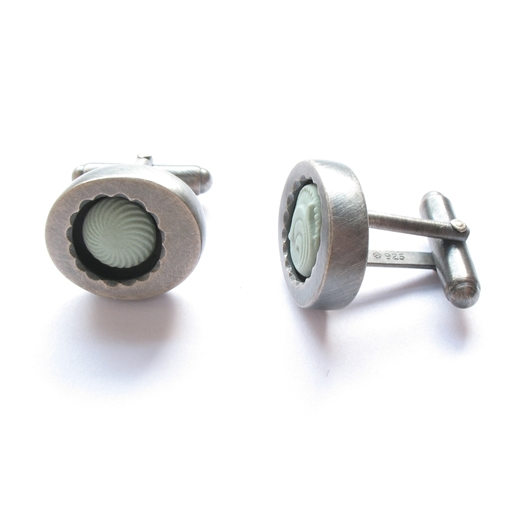 Small Container Cufflinks - Side