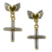 Liberty Cross Earrings