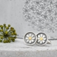 Framed daisy cufflinks2