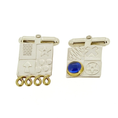 asymmetrical cufflinks 1