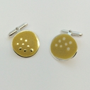 cufflinks yellow