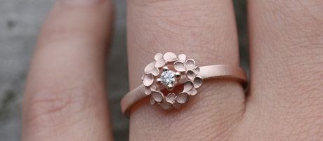 Dagmar Korecki Diamond Ring