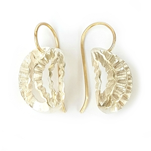 Dainty Strata Earrings by Clara Breen