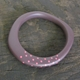 maroon bangle