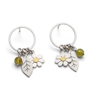garden elements earrings