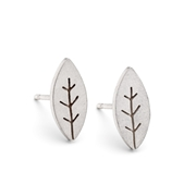 Little leafy earrings