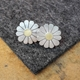 Large daisy earrings 2