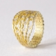 Diamond Strata statement ring -- 18ct gold-by Clara Breen