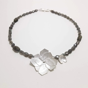 Double Hydrangea necklace