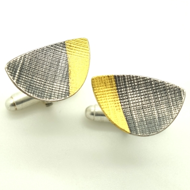 Crosshatch Cufflinks