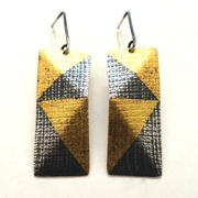 2 Fold Drop Earrings