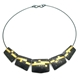 Black Damask neckpiece