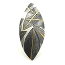 Layered Leaves Brooch