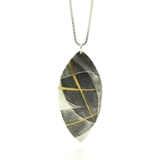 Layered Leaves Pendant