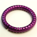 Helix Bangle in Violet