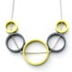 Lime & Grey Solaris 5 Necklace
