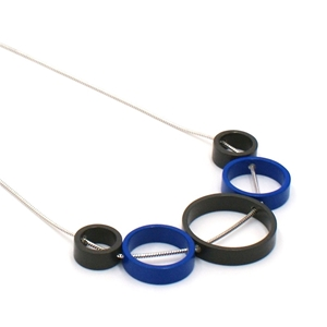 Ultramarine Blue Solaris 5 Necklace
