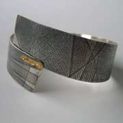 Cross-hatched Cuff