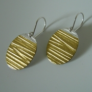 Oval-Gold large drops