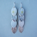 4 leaf drop earring