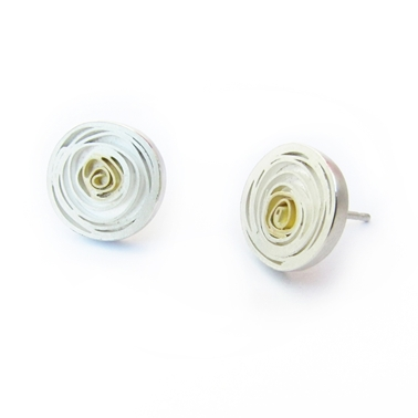 XLarge Spiral stud Earrings
