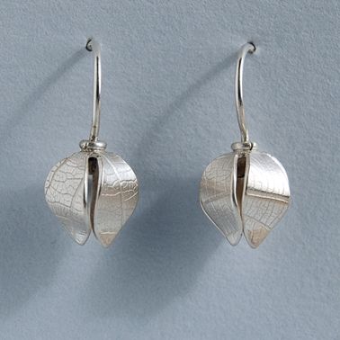 small beech drop earring