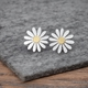Aster flower earrings