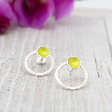 Halo Lime Interchangeable studs