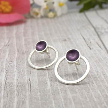 Halo Purple Interchangeable studs