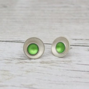 Two In One Enamel Studs