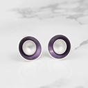 Large Target Studs - Lilac