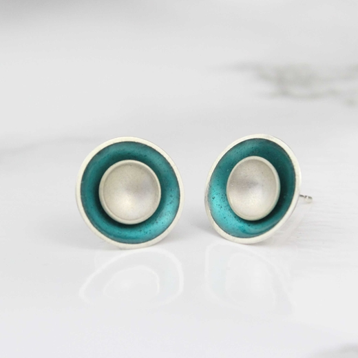 Target Stud Earrings