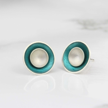 Two in One Studs - Teal