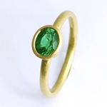 Emerald Ring by Goodman Morris