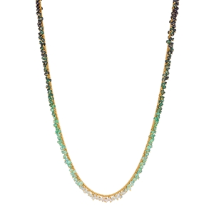 Emerald Ombre Necklace