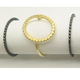 enso ring group. oval gold. 2 0xi